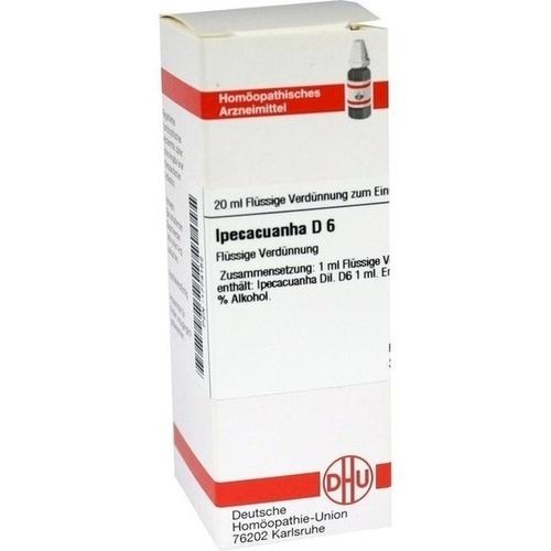 IPECACUANHA D 6 Dilution 20 ml - Homöopathie - Online ...