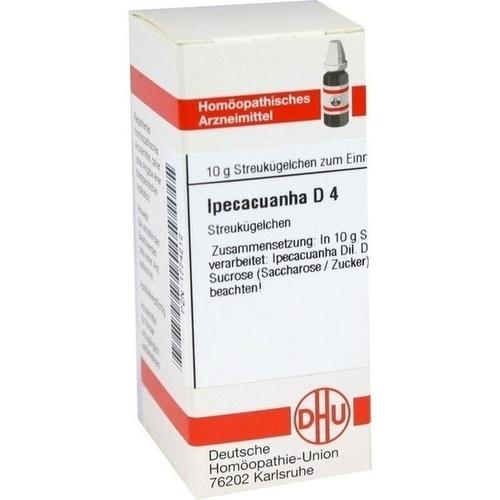IPECACUANHA D 4 Globuli 10 g - Homöopathie ...