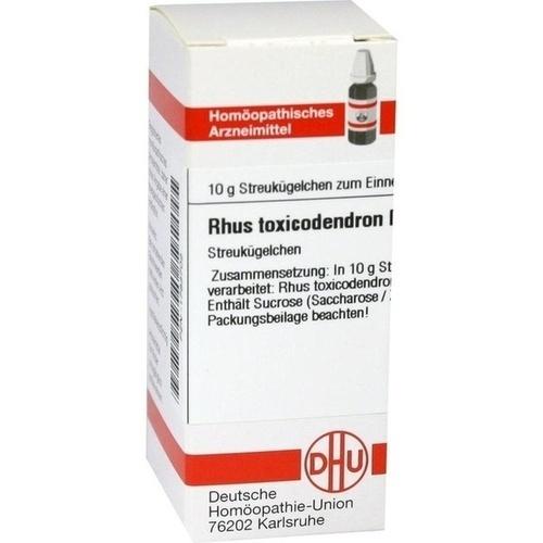 RHUS TOXICODENDRON D 3 Globuli
