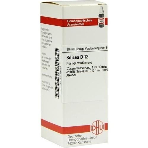 SILICEA D 12 Dilution