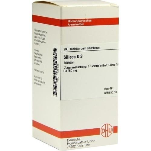 SILICEA D 3 Tabletten
