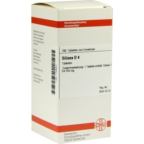 SILICEA D 4 Tabletten