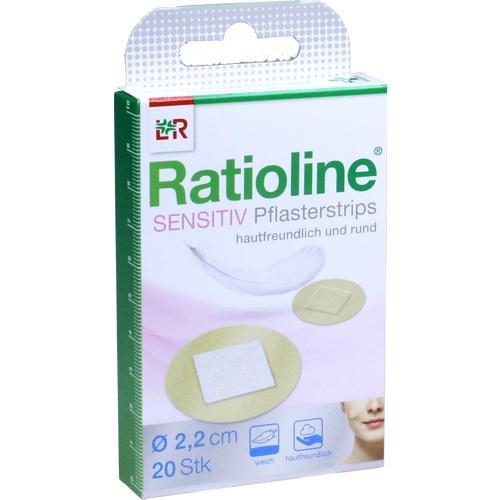 RATIOLINE sensitive Pflasterstrips rund