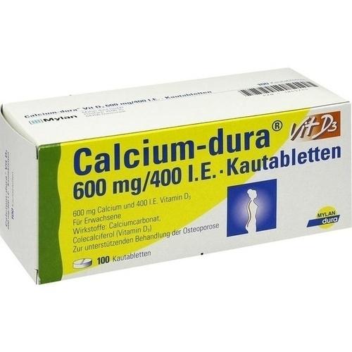 CALCIUM DURA VIT D3 600MG