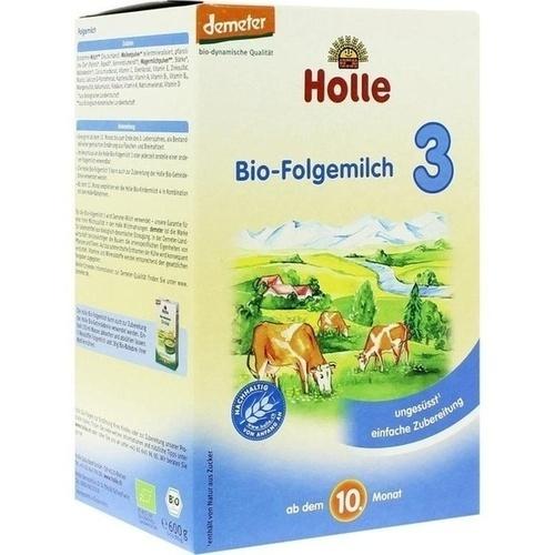 HOLLE Bio Säuglings Folgemilch 3
