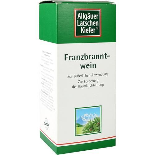 Allgäuer Latschenkiefer Franzbranntwein extra stark
