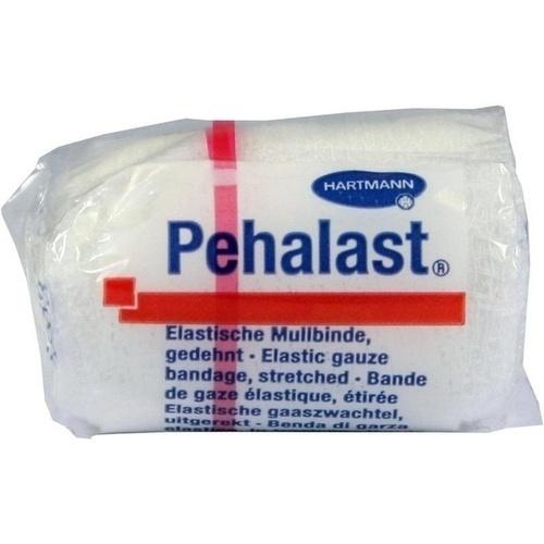 PEHA-LAST Mullbinde elastisch 4 cmx4 m