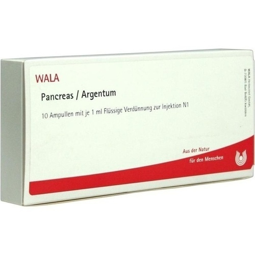 PANCREAS/ARGENTUM Ampullen