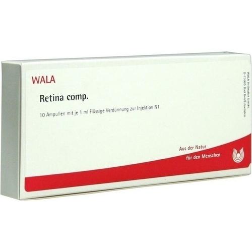 WALA RETINA COMP. Ampullen