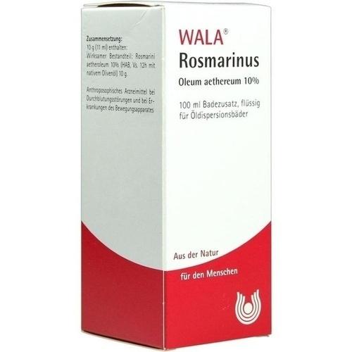 WALA ROSMARINUS OLEUM AETH. 10%