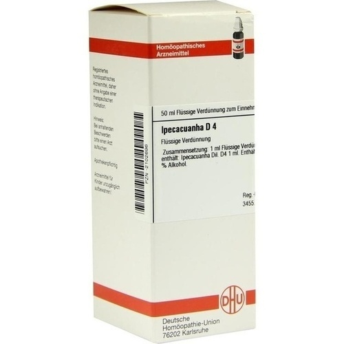 IPECACUANHA D 4 Dilution 50 ml - I-J - Dilutionen A-Z ...