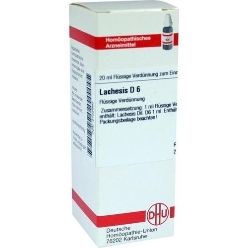 LACHESIS D 6 Dilution