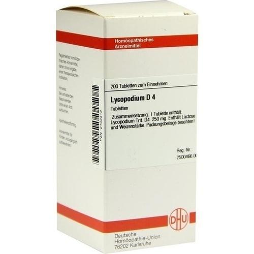LYCOPODIUM D 4 Tabletten