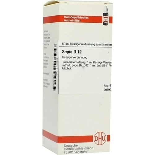 SEPIA D 12 Dilution