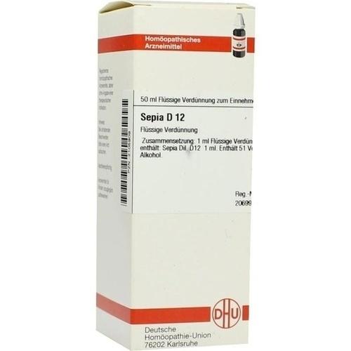 SEPIA D 12 Dilution