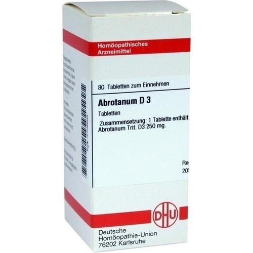 ABROTANUM D 3 Tabletten