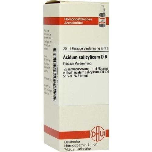 ACIDUM SALICYLICUM D 6 Dilution