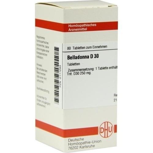 BELLADONNA D 30 Tabletten