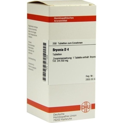 BRYONIA D 4 Tabletten