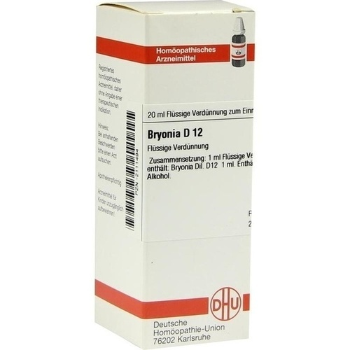 BRYONIA D 12 Dilution