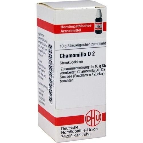CHAMOMILLA D 2 Globuli