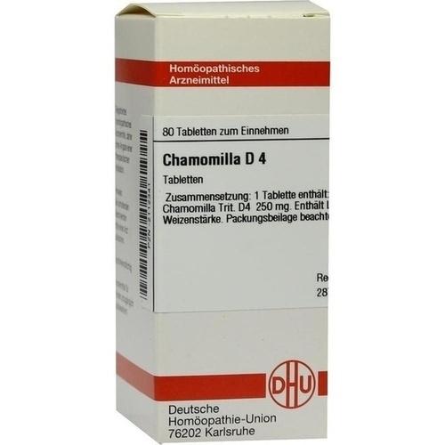 CHAMOMILLA D 4 Tabletten