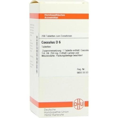 COCCULUS D 6 Tabletten