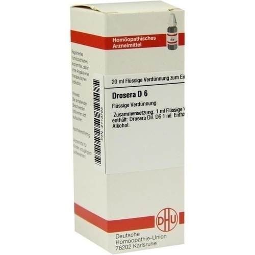 DROSERA D 6 Dilution