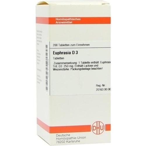 EUPHRASIA D 3 Tabletten