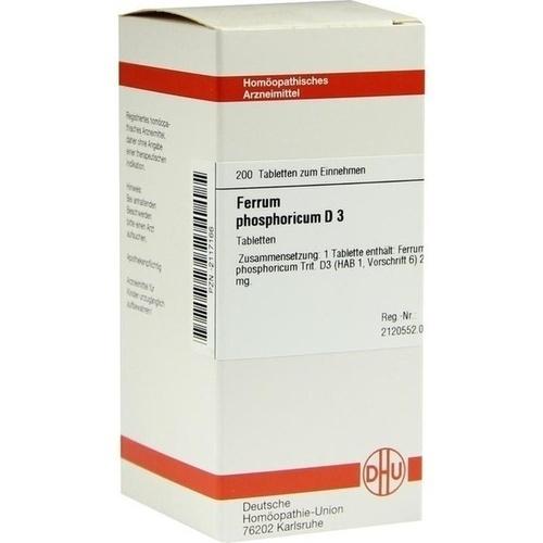 FERRUM PHOSPHORICUM D 3 Tabletten