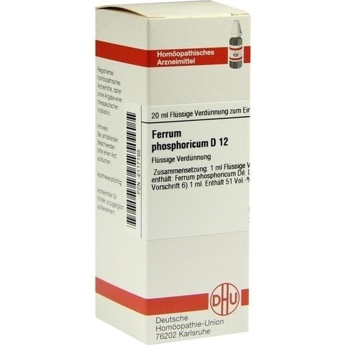 FERRUM PHOSPHORICUM D 12 Dilution
