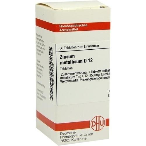ZINCUM METALLICUM D 12 Tabletten
