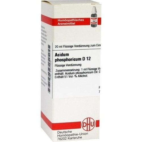 ACIDUM PHOSPHORICUM D 12 Dilution