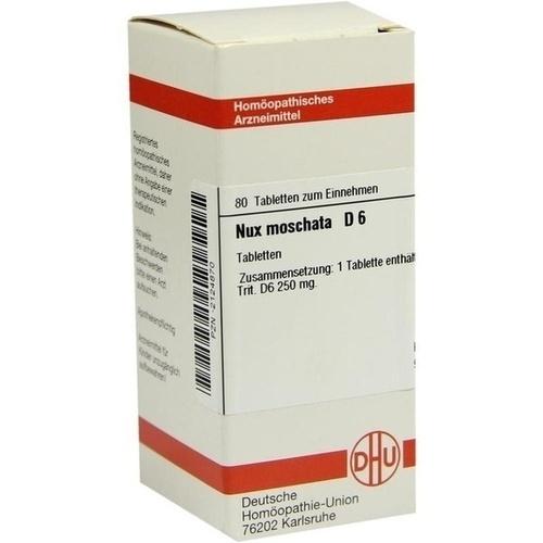 NUX MOSCHATA D 6 Tabletten