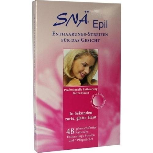 ENTHAARUNGS STREIFEN Gesicht Snae Epil