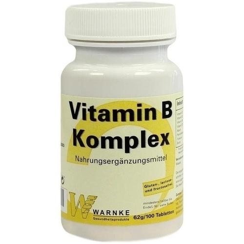 vitamin b komplex tabletten 100 st vitamin b. Black Bedroom Furniture Sets. Home Design Ideas