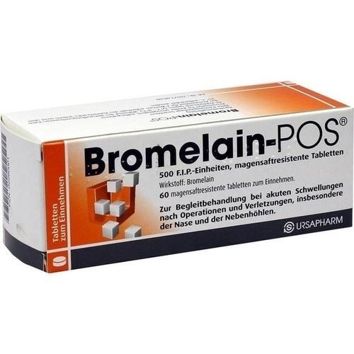 BROMELAIN POS magensaftresistente Tabletten 60 St.