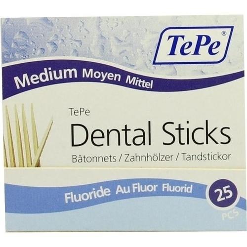 TEPE Zahnhölzer mittel m. Fluorid