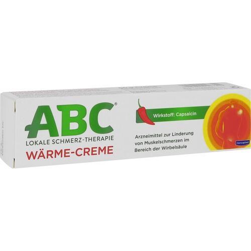 ABC Wärme-Creme Capsicum Hansaplast med