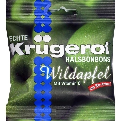 KRÜGEROL Halsbonbons Wildapfel