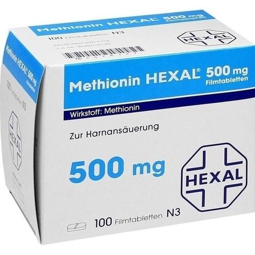 METHIONIN HEXAL 500 mg Filmtabletten