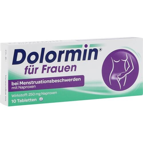 dolormin f r frauen tabletten 10 st schmerzmittel. Black Bedroom Furniture Sets. Home Design Ideas