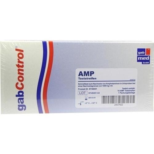 DROGENTEST Amphetamin Teststreifen 10 St