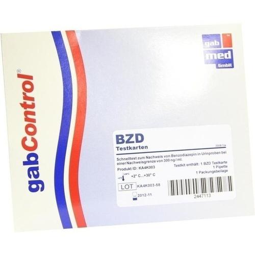 DROGENTEST Benzodiazepine Testkarte 1 St