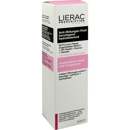 LIERAC Prescription Anti-Rötungen Fluid