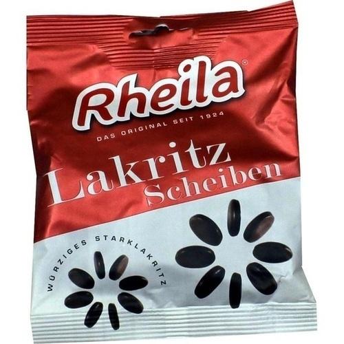 RHEILA Lakritz Scheiben mit Zucker