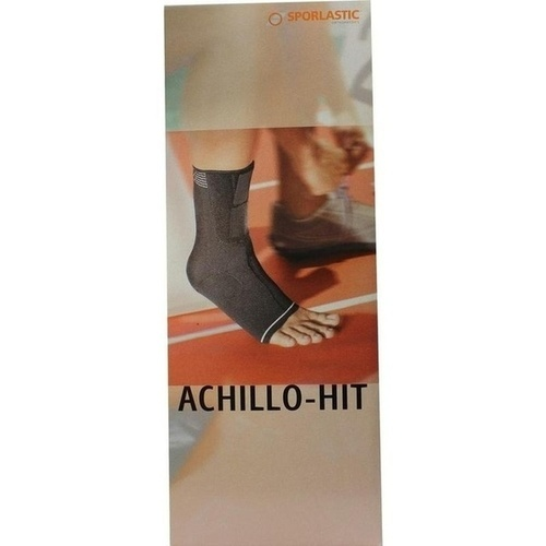 ACHILLO-HIT Bandage links Gr.5 schwarz 07804