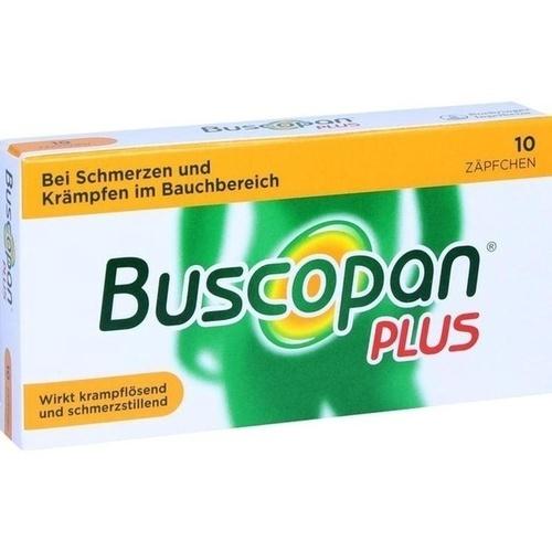 BUSCOPAN plus Suppositorien
