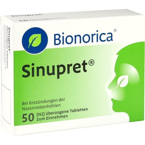 SINUPRET überzogene Tabletten 50 St