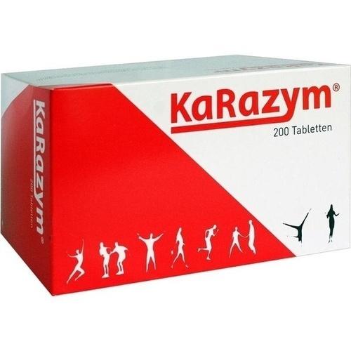 KARAZYM magensaftresistente Tabletten 200 St.